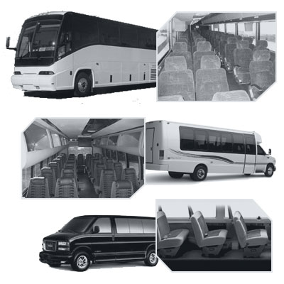 Fresno Coach Bus rental