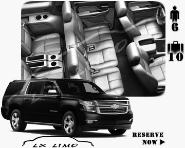 SUV Suburban for hire in Fresno