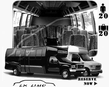 Fresno Mini bus for hire in Ontario